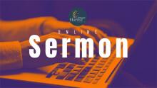 Sermon March 15, 2020 Pastor Danny Martinez