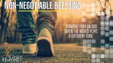 "Sermon November 29, 2020 ""Non-Negotiable Blessing"" Pastor Daniel Martinez"
